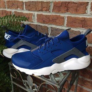 7514cab0a277 Nike Shoes - Men Nike huarache run ultra. Gym blue wolf grey